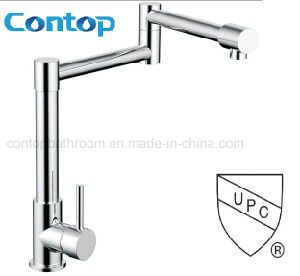 Cupc Approval Single Handle Fold Kitchen Faucet pictures & photos