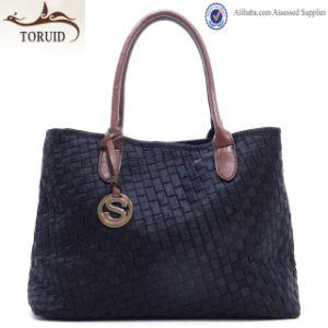 Fashion Designer Lady Shoulder PU Bag in China