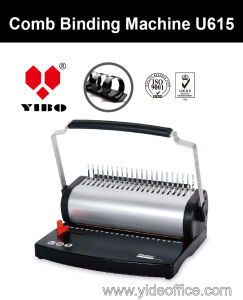 U Handle A4 Size Plastic Comb Binding Machine U615 pictures & photos