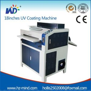 UV Coating Laminating Machine 18inch with Cabinet (WD-LMB18) pictures & photos