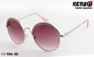 New Coming Round Frame Sunglasses for Accessory, Km15325 pictures & photos