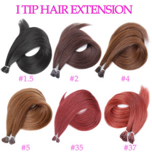 Hot Selling I Tip Human Hair Extension pictures & photos