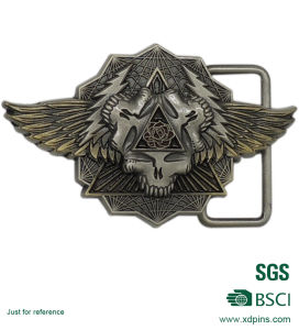 New Design 3D Logo Belt Buckle for Promotion pictures & photos