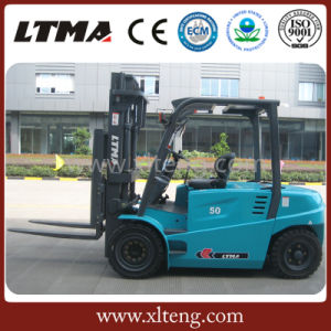 Electric Forklift Truck 4 Ton 5 Ton Battery Forklift pictures & photos