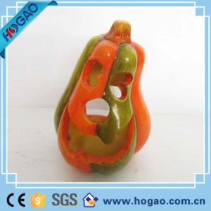 Handmade Artificial Halloween Resin Pumpkins Figurine for Sale pictures & photos