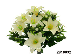 Artificial/Plastic/Silk Flower Lily Bush (2918032) pictures & photos