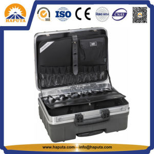 Waterproof ABS Tool Box with Pockets (HT-5105) pictures & photos