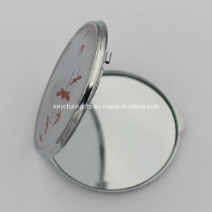 Wholesale Custom Round Metal Compact Mirror pictures & photos