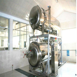 900*1800 mm Stainless Steel Automatic Food Autoclave pictures & photos