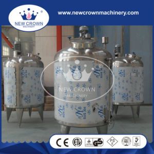 Mirror Polished 4 Legs Conical Bottom Beverage Mixing Tank with Respirator pictures & photos