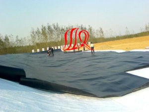 HDPE High Strength Impermeable Geocomposite Geomembrane for Foundation Cover pictures & photos