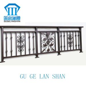 High Quality Wrought Zinc Steel Balcony Guardrail 001 pictures & photos