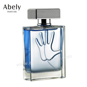 Designer Perfume Bottle with Leather Decoration for Men′s Perfume pictures & photos