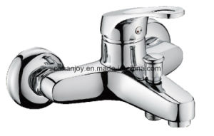 Wall Mounted Single Handle Bathtub Faucet (H13-102) pictures & photos