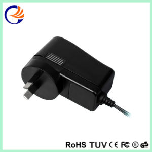 9W SAA Black Casing Universal AC/DC Adaptor Switching Power Supply