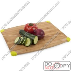 Square Bamboo Chopping Board for Vegetable Cutting
