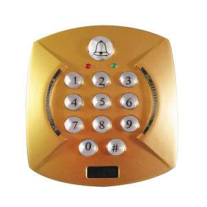 Golden Color Single Door Keypad pictures & photos