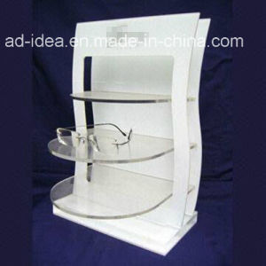 Hot Sale White Customized Acrylic Stand with Logo Printed pictures & photos