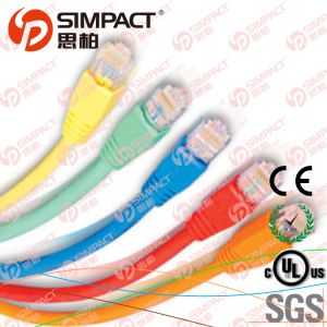 RoHS, Ce Compliant Patch Cord Cat5e LSZH pictures & photos