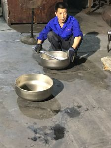 Bw ANSI B16.9 316ti Stainless Steel Seamless Cap pictures & photos