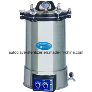 Automatically Medical Sterilizer Portable Steam Sterilizer for Sale pictures & photos