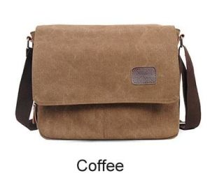 Canvas Messenger Bag Vintage School Daily Casual Shoulder Bag Sh-16050924 pictures & photos