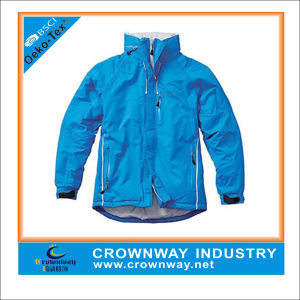 High Quality Mens Waterproof Golf Jacket with Reflective Trim pictures & photos