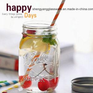 American Popular 16oz 450ml Glass Mason Jar for Storage pictures & photos