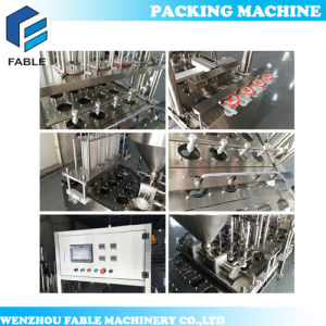 High Speed Cup Filling and Sealing Machine for Water Cup pictures & photos