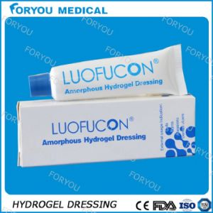 Foryou Medical China Supplier Hydrogel Dressing for Burns Scar Wound Healing Ointment pictures & photos
