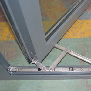 High Quality Aluminium Casement Window with Fix Pane K03049 pictures & photos
