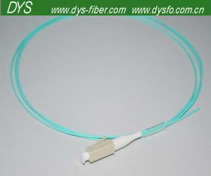 Low Insertion Loss LC PC Om3 Fiber Pigtail pictures & photos