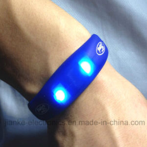 Fashion LED Flashing Logo Bracelets for Promotion Gifts (4010) pictures & photos