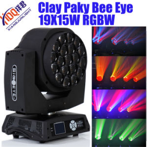 Clay Packy 19X15W Zoom RGBW LED Moving Head pictures & photos