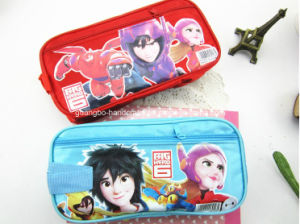 2016 Newest School Canvas Printing Pencil Case for Kids pictures & photos