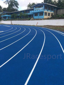 Hot Sale Outdoor Tartan Stadium Rubber Running Tracks pictures & photos