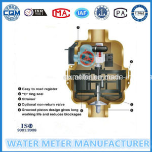 Brass Volumetric Kent Type Water Meter (Dn15-25mm) pictures & photos