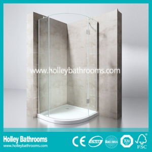 Hinger Door Circular Single Door Selling Simple Shower Enclosure (SE711C) pictures & photos