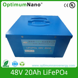 Long Time Cycle 48V 20ah LiFePO4 Electric Bike Battery Pack pictures & photos