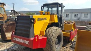 Available-Sheep-Feet-Cap 40~400ton/H 2009-Sweden-Exported Used Dynapac Ca25pd Single Drum Road Roller pictures & photos