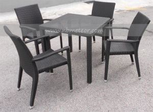 Mtc-025 PE Rattan Outdoor Wicker Dining Set pictures & photos