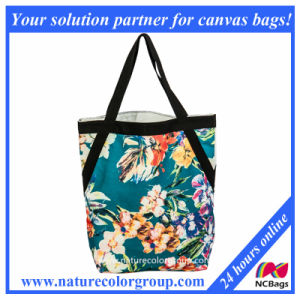 Custom Wholesale Polyester Cheap Foldable Shopping Bag (SP-5043) pictures & photos
