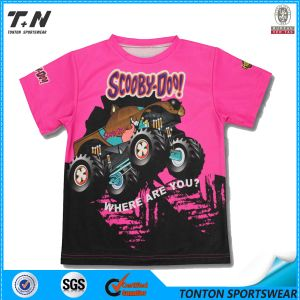 Wholesale Dry-Fit Full Sublimation Kids Tshirts pictures & photos
