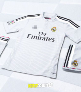 2015 Season White Real Madrid Home and Away Football Jersey Thai Version of The Service Club Shirt pictures & photos