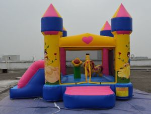 High Quality Bouncy Castle and Inflatable Bouncer, Inflatable Castle From China, Princess Combo B2194 pictures & photos