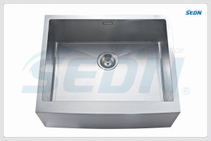 Handmade Single Bowl Apron Stainless Steel Sink (AB1004) pictures & photos
