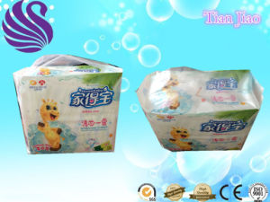 Lovely and Good Absorption Disposable Sample Free Baby Diaper L Size pictures & photos