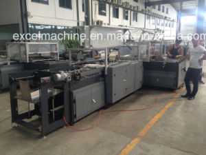 Automatic Lining and Metal Sheet Pasting Machine pictures & photos