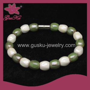 Bioenergy Tourmaline Beads Bracelet (2015 Tmb-201) pictures & photos