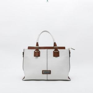 fashion litch grain PU lady tote handbag(C71407) pictures & photos